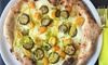 ⏰ Menu vegano con pizza a scelta