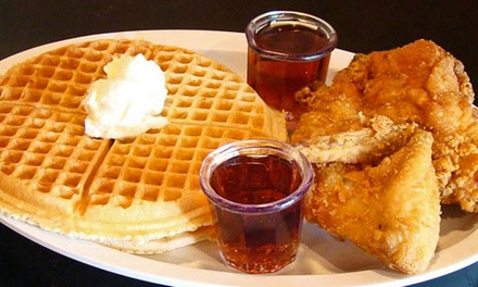 Soul Food at Chicago's Home of Chicken & Waffles (Up to 45% Off). Two Options Available.