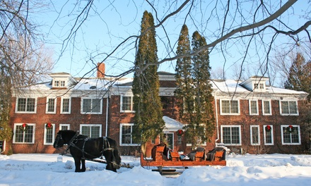 1 or 2 Nights for Two in Picasso, Peron, or Frost Room with Wine, Cheese, and Tour at The Outing Lodge in Stillwater, MN