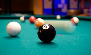 M&D's Theme Park - Glasgow: Four Hours of Pool or Snooker with a Burger and Fries for Two or Four at M&D's Theme Park (50% Off)