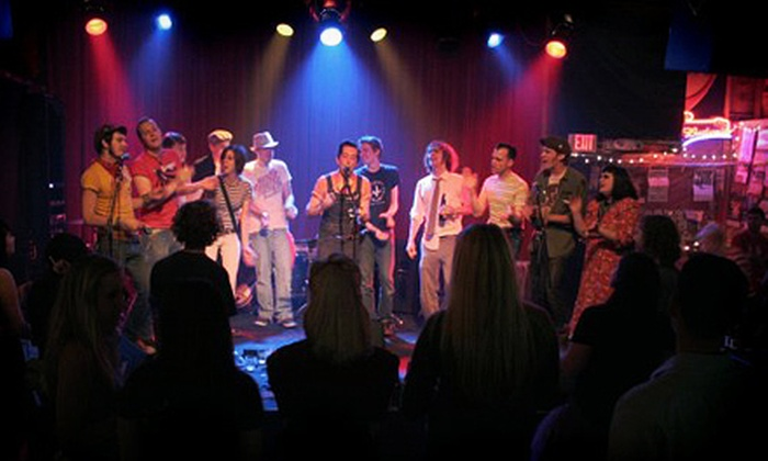 Off Broadway - Marine Villa: $18 for Concert Package with Tickets and Drinks for Two at Off Broadway (Up to $40 Value)