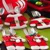 Trend Matters Santa-Suit Silverware-Holder Set (6-Piece)