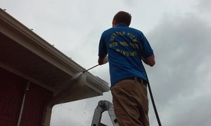 Better View Window Cleaning: Sidewalk or Concrete Pressure Washing from Better View Windows & Power Washing (60% Off)
