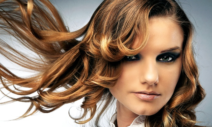 Studio V Salon - Winter Park: Haircut and Deep-Conditioning Treatment with Optional Full Color or Highlights at Studio V Salon (Up to 60% Off)