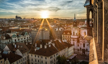 ✈ Prague: 2 to 3 Nights with Breakfast and Return Flights at Choice of 4* Hotels*