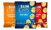 24-Pack of Slim Chips: 24-Pack of Slim Chips in Aged White Cheddar, Salty Sweet Kettle, or Sea Salt Flavor