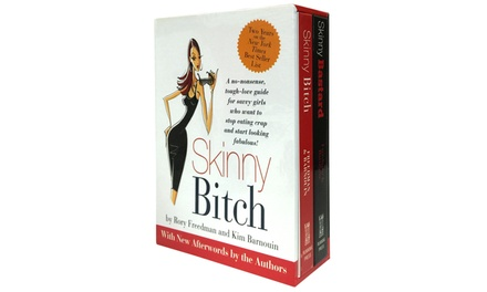 Skinny Bitch and Skinny Bastard Boxed Set (2-Pack)