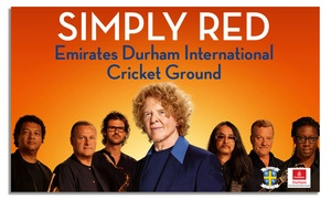 Liz Hobbs: Simply Red Big Love Tour Live on 3 June at Durham County Cricket Club: £50.88