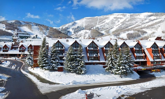 The Lodge at the Mountain Village - Park City, UT: One- or Two-Night Stay with Optional Bottle of Wine at The Lodge at the Mountain Village in Park City, UT