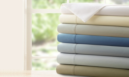 1,200-Thread-Count Symphony Collection Egyptian Cotton 4-Piece Sheet Sets