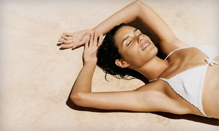 The Glo Studio - Downtown Scottsdale: Three or Five Organic Spray Tans at The Glo Studio in Scottsdale (Up to 67% Off)