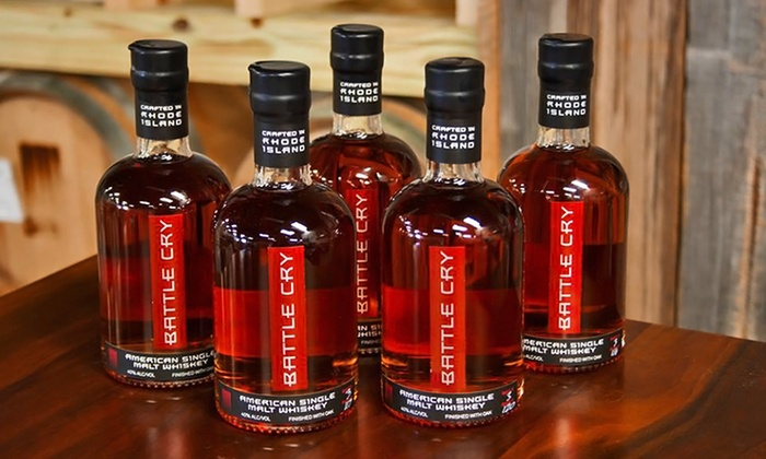 Sons of Liberty Spirits Company - Wakefield-Peacedale: Whiskey Tour and Tasting and Souvenir Glasses for Two or Four at Sons of Liberty Spirits Company (45% Off)