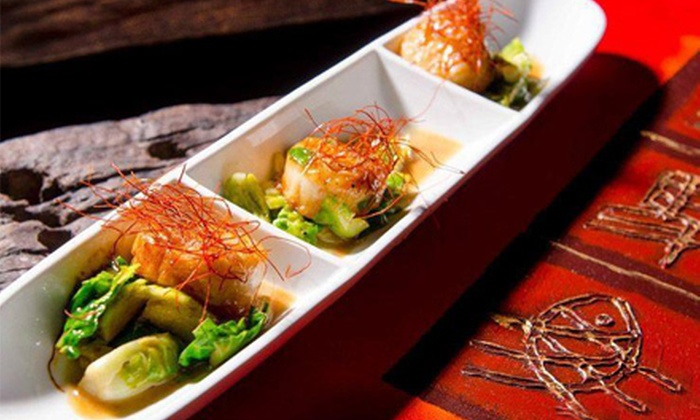 Dapur - Central Fort Lauderdale: $40 for Asian Small Plates and Drinks for Two at Dapur (Up to $70 Value)