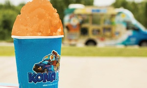 Kona Ice North Phoenix, Tempe, and Scottsdale: $183 for a Deluxe Party Package from           Kona Ice North Phoenix, Tempe, and Scottsdale ($249 Value)