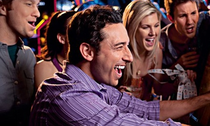 Dave and Buster's - Harding: All-Day Simulator Power Cards and 60 Game Chips for Two or Four at Dave & Buster's (Up to 64% Off)