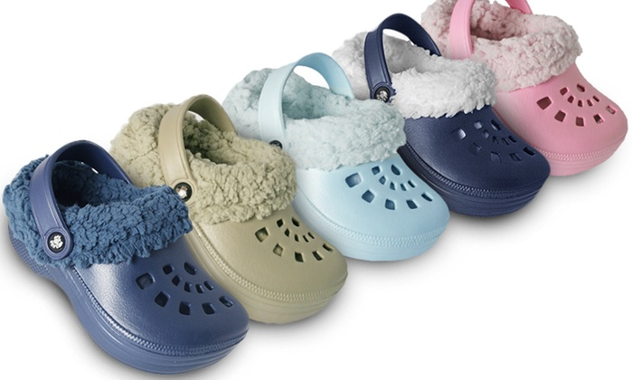 Children's Fleece Lined Clogs