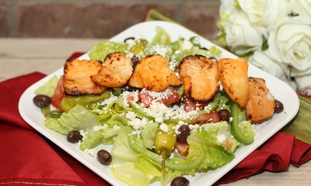 Middle Eastern Food and Drinks at AZ Kabob House (Up to 45% Off). Two Options Available.