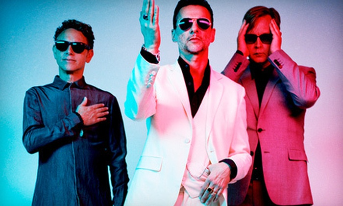 Depeche Mode: The Delta Machine Tour - Hollywood Casino Amphitheatre: $28.88 to See Depeche Mode at First Midwest Bank Amphitheatre on Saturday, August 24, at 7:30 p.m. (Up to $38.50 Value)