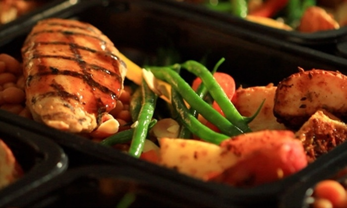 Diet-to-Go - LORTON: Six-Meal Sample Pack of Healthy Prepared Meals for One or Two from Diet-to-Go (Up to 57% Off)