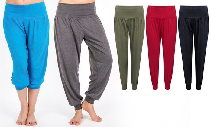 Ladies' Yoga Pants in Choice of Colour for AED 59 (58% Off)
