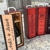 Up to 52% Off Personalized Decorative Wine Cases at Qualtry