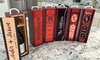 Qualtry: One or Two Personalized Decorative Wine Cases from Qualtry (Up to 52% Off)