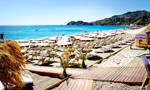 LIDO PLAYA SOLELUNA: Ingresso di coppia al lido infrasettimanale o nel weekend con pranzo a scelta da Lido Playa Soleluna