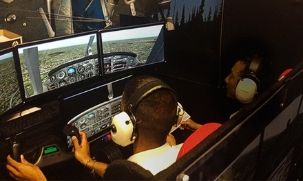 Flight Simulator Experience for One or Two