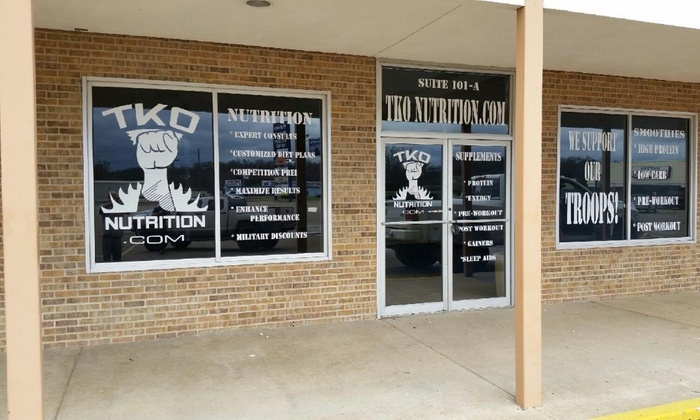 Tko Nutrition - Killeen: $30 for $40 Worth of Nutritional Supplements — TKO Nutrition