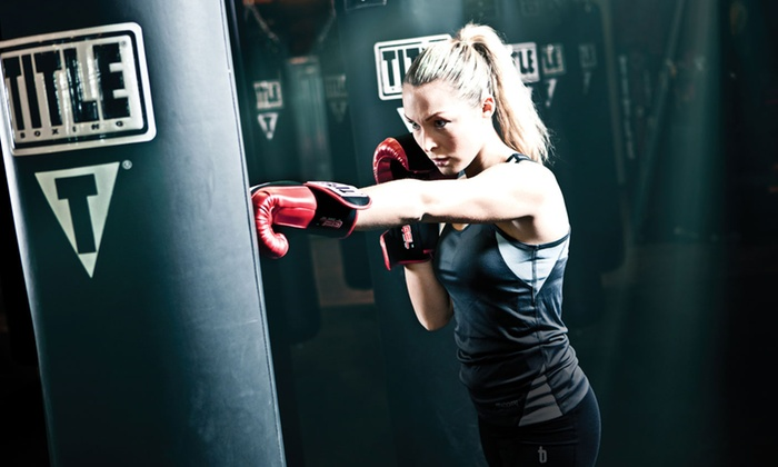TITLE Boxing Club - Edina: $19 for Two Weeks of Boxing and Kickboxing Fitness Classes at TITLE Boxing Club-Edina ($75 Value)