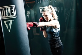 TITLE Boxing Club: $15 for Two Weeks of Boxing and Kickboxing Fitness Classes at TITLE Boxing Club-Edina ($75 Value)