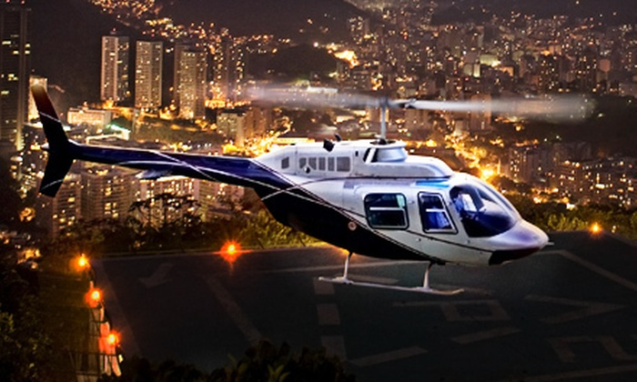 Whirlybird Helicopters - Ogden: $125 for an Ogden City Lights Helicopter Tour for Up to Three from Whirlybird Helicopters (Up to $255 Value)