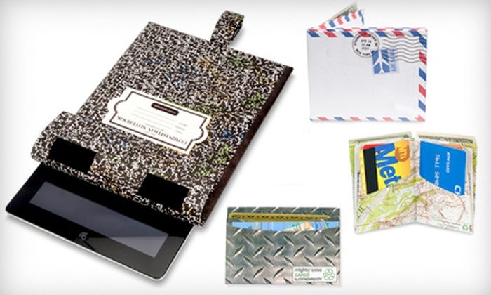 Dynomighty: Durable, Eco-Friendly Wallets and Tablet Cases from Dynomighty (Half Off). Two Options Available.