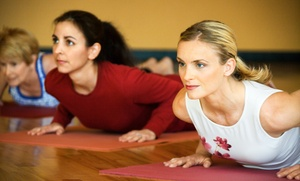 Gold's Gym: 30 Days of Unlimited Hot Yoga or 15-Day Class Pass from Gold's Gym (Up to 44% Off)