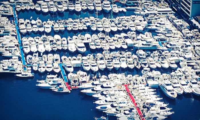 Lido Yacht Expo - Newport Beach: One-Day Admission for Two or Four to the Lido Yacht Expo (Up to 53% Off)