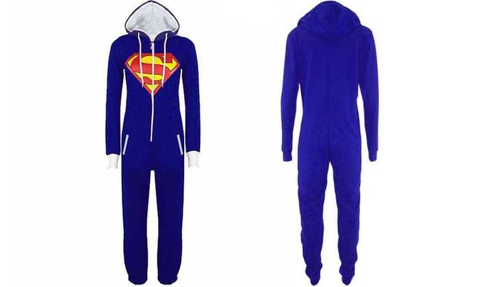 comprare on line db3ec 30ace Pigiama intero Superhero uomo | Groupon Goods