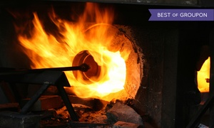 Dagget Glass Studio: Introductory Glass-Blowing Class for One, Two, or Four at Daggett Glass Studio (Up to 51% Off)