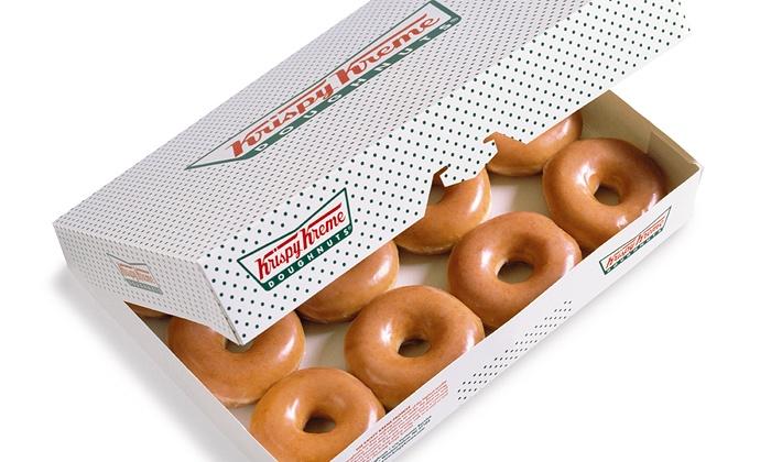 Krispy Kreme - Multiple Locations: $10 for Two Dozen Original Glazed Doughnuts at Krispy Kreme ($17.98 Value)