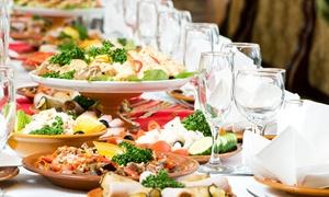Drewer & Scheer: Traditionelles Catering mit kalten und warmen Speisen für 10 oder 15 Personen von Drewer & Scheer (bis zu 65% sparen*)