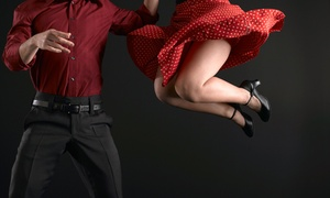San Antonio Swing Dance Society: Four Weeks of Intro to Swing Classes for One, Two, or Four from San Antonio Swing Dance Society (Up to 59% Off)