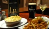 The Long Room - New York: Burgers or Pizzas for Two or Four with Beer at The Long Room (Up to 53% Off)