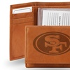 San Francisco 49ers Genuine Leather Trifold Wallet