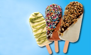 FrozenPeaks Frozen Yogurt: Two or Four Premium Frozen-Yogurt Pops at FrozenPeaks Frozen Yogurt (50% Off )
