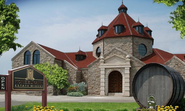 Konzelmann Estate Winery - Niagara On The Lake: Vineyard and Wine-Cellar Tour with Tasting for Two or Four at Konzelmann Estate Winery (Up to 57% Off)