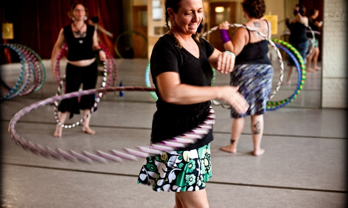 Asheville Hoops - Asheville: Four Dance-Fitness Classes at Asheville Hoops (65% Off)