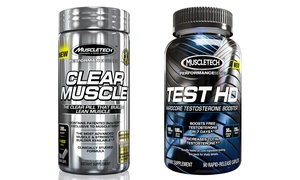Clear Muscle and Test HD Supplement Bundle