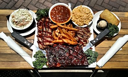 image for Barbecue at Whiskey Rose (Up to 38% Off)