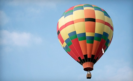 Del Mar Sunset Hot Air Balloon Tour for One, Two, or Four from Panorama Balloon Tours (Up to 56% Off)