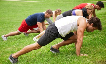 image for One Month of Boot Camp Sessions with Adventure Fitness (Up to 76% Off)