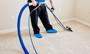 Clean Carpet Care1 Steam Cleaning: Carpet Steam-Cleaning for Three Rooms or Five Rooms from Clean Carpet Care1 Steam Cleaning (Up to 68% Off)